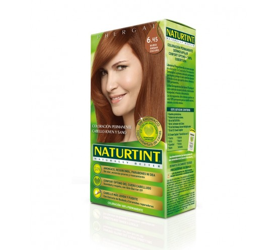Naturtint Naturally Better 6.45 Rubio Ámbar Oscuro