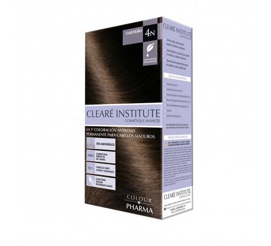 Clearé Institute Clinuance Colour Pharma 4N Castaño