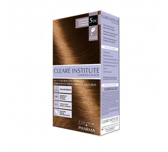 Clearé Institute Clinuance Colour Pharma 5DC Castaño Dorado Cobrizo