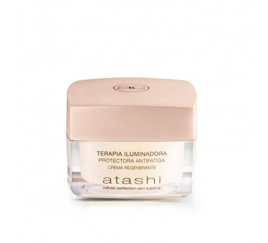 Terapia Iluminadora Protectora Antifatiga, crema regenerante - atashi cellular perfection skin sublime
