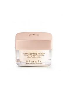 terapia-lifting-firmeza-menton-escote, crema regenerante - atashi cellular perfection skin sublime