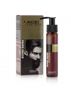 Aceite Nutritivo Barba - Yacel For Men 50 ml.