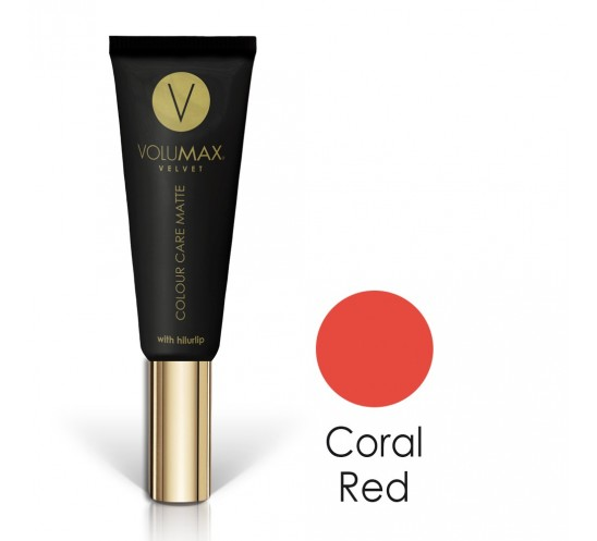 Efecto mate - Volumax Velvet Matte Finish Coral Red 7,5 ml.