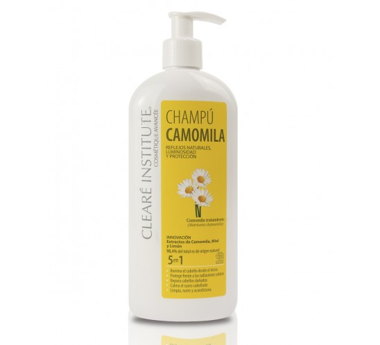 Champú Camomila - Clearé Institute 400 ml.