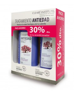 ANTIEDAD PACK AHORRO CLEARE INSTITUTE 30% dto. en acondicionador