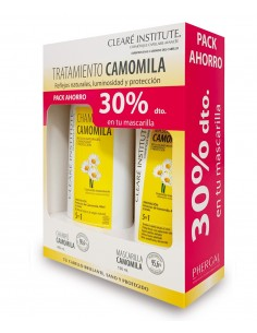 CAMOMILA PACK AHORRO CLEARE INSTITUTE 30%dto.  en la mascarilla