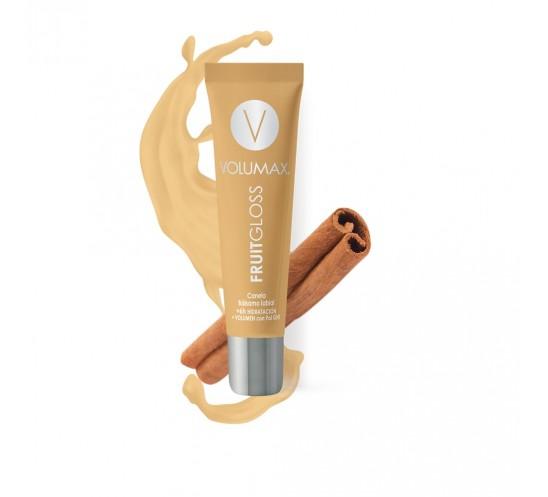 Hidratación de Labios - Volumax Fruitgloss Canela 7,5 ml.