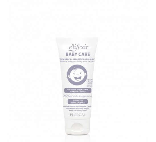 Crema Facial Reparadora Calmante - E´lifexir Dermo BABY CARE 50 ml.