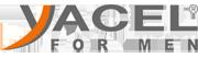Logotipo Yacel for men. Cosmética para hombre