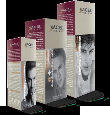 Productos de cuidado facial de yacel for Men