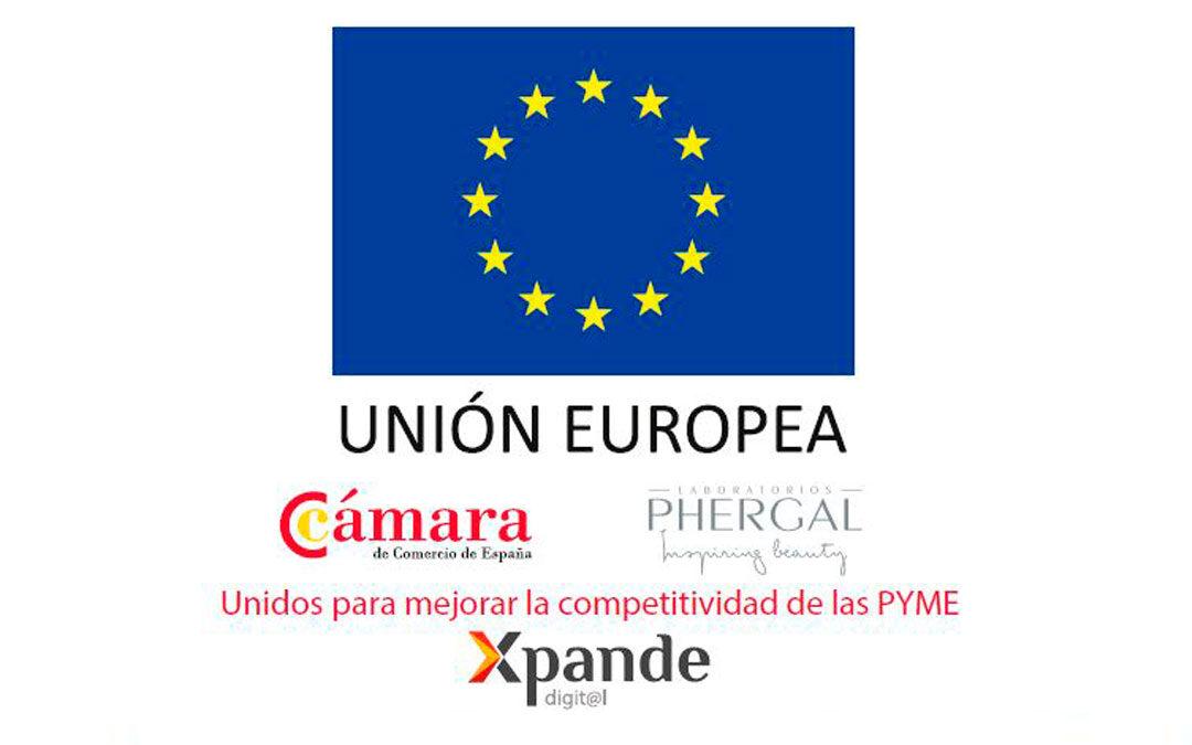 ProyectodeInternacionalizaciónen laventa onlinedeLaboratorios Phergal SA a través deMarketplace