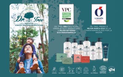 Dr. Tree reconocida como mejor marca ECO de Farmacia y Parafarmacia