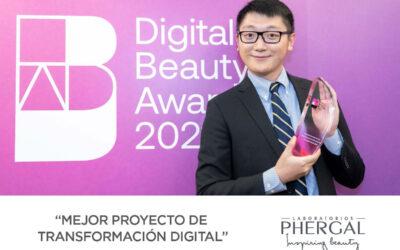 Nuestra transformación digital, premiada como uno de los mejores proyectos en los 'Digital Beauty Awards' 2021